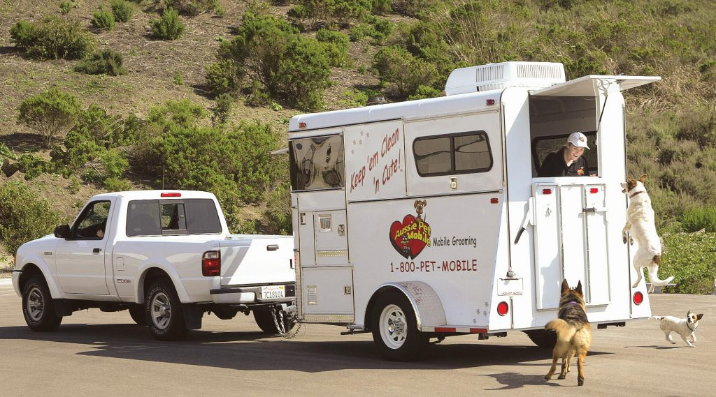 Mobile Pet Grooming Trailer